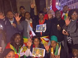 Zimbabwean activists hold Candlelit Vigil in London