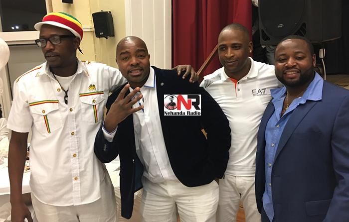 George Mbwando, Liberty Masunda, Brian Badza and Maxwell Dube