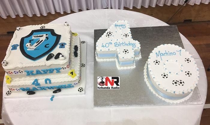 Maxwell Dube's cake