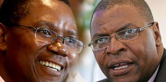Simba Makoni and Welshman Ncube
