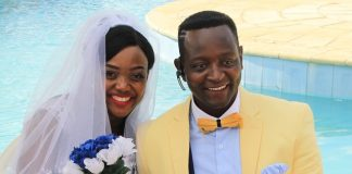 Sulumani Chimbetu and wife Linda