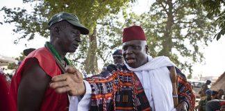 Gambian leader Yahya Jammeh