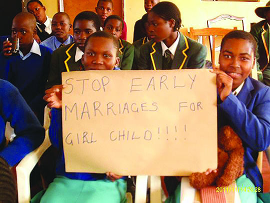 Child marriage remains widespread in rural areas, disproportionately affecting girls and endangering their lives and livelihoods.