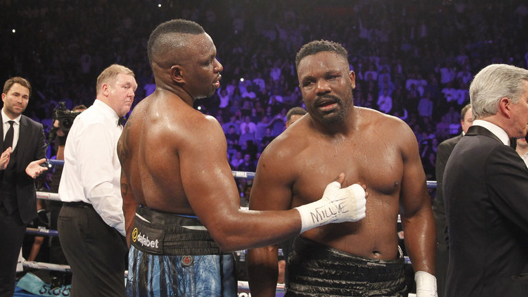 dillian whyte pays tribute to dereck chisora and admits