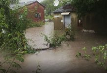 Twenty one families and inmates at an Old People's Home had to be evacuated to safety as floods raged through settlements that include the Hwange Colliery Company (HCCL) concession, Lwendulu village's F-section and Cinderella.