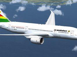 Air Zimbabwe plane