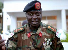 Army chief General Ousman Badjie