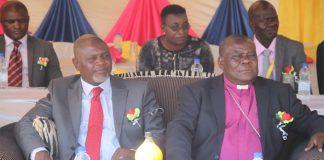 Vicar-General Bigboy Gawa of the Anglican Church Province of Zimbabwe seen here with the notorious former Bishop Nolbert Kunonga