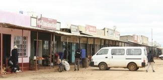 Inyathi Business Centre where the terror is taking place.