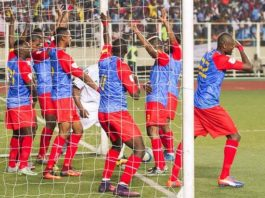 DR Congo players are due on the pitch in Gabon on Monday