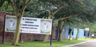 The Heads and Hooves Wholesale in Bulawayo's Kelvin West industrial area