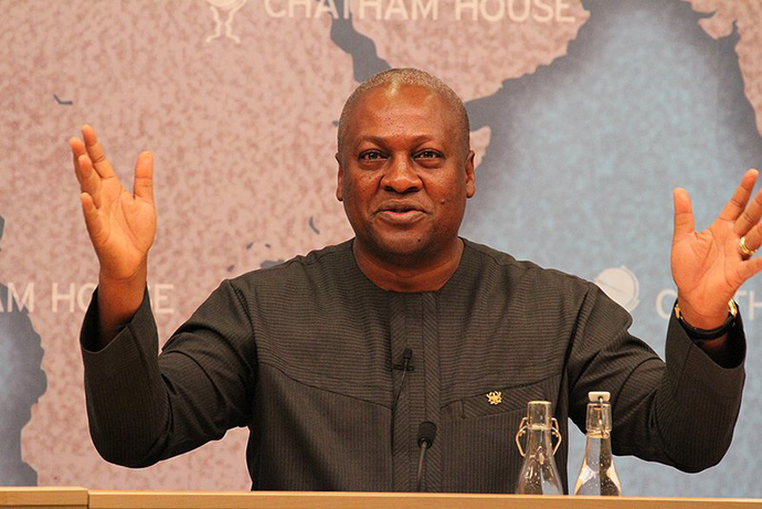 Ghana's former President John Mahama