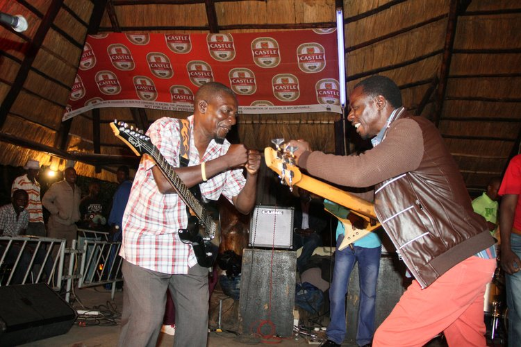 "Nicholas ""Madzibaba"" Zakaria and Alick Macheso"