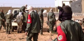 The attack targeted soldiers and members of rival armed groups who conduct regular patrols in a bid to secure northern Mali