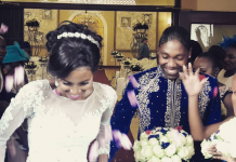 Star South African 800m athlete Caster Semenya and long-time partner, Violet Raseboya, have officially tied the knot.