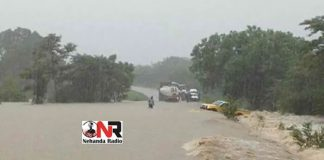 File picture of flooding in Zimbabwe