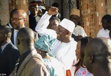 Adama Barrow also invited the general public to attend the ceremony.