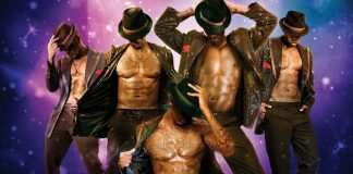 Male strippers invade Harare