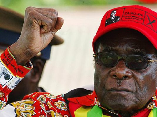 New documents allege that then Prime Minster Robert Mugabe orchestrated the mass killings in an effort to maintain a one-party state. Photograph: Desmond Kwande/AFP/Getty Images