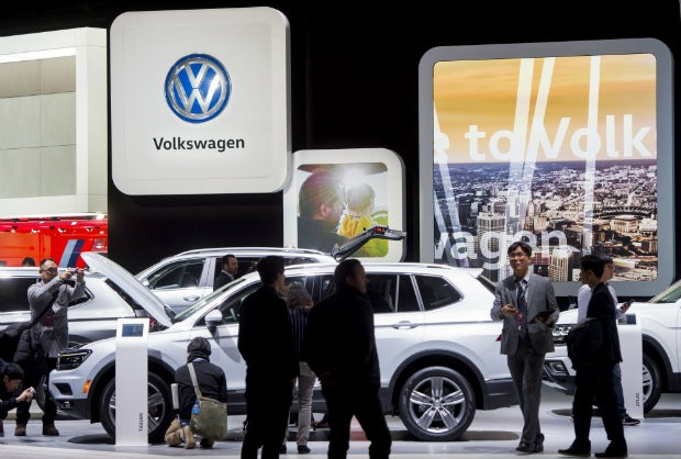 Volkswagen has agreed a draft $4.3bn (£3.5bn) settlement with US authorities over the emissions-rigging scandal.