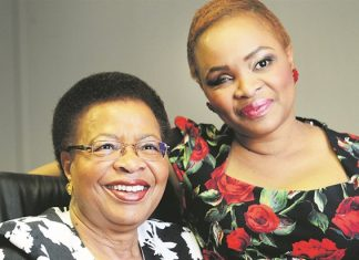 Graca and Josina Machel