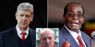 Arsenal fan compares Arsene Wenger to Zimbabwean dictator Robert Mugabe