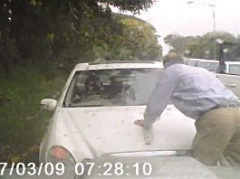 Coltart almost run over in incident: Reckless driver opposes traffic