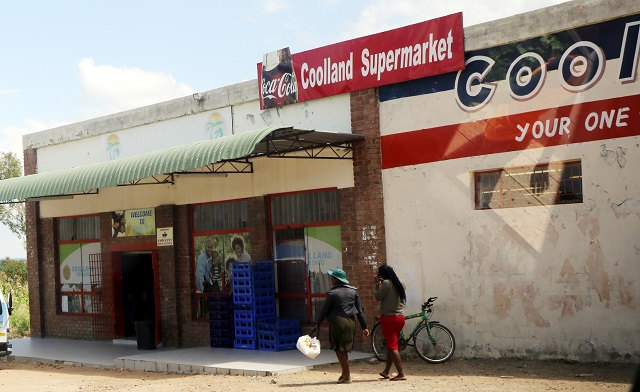 The Cooland Supermarket in Bulawayo's Nkulumane 12 suburb
