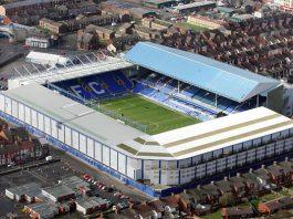 Everton's current Goodison Park Stadium
