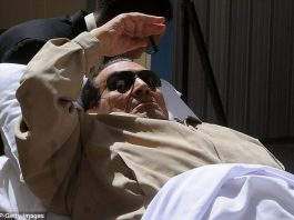 Hosni Mubarak has been confined to a military hospital despite having completed a three-year sentence for embezzlement.