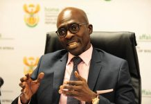 South African Home Affairs Minister Malusi Gigaba