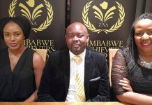 From left to right: Miriam Bandera, Tawanda Chiwira and Thembi Nkala
