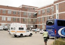 Mpilo Hospital in Bulawayo