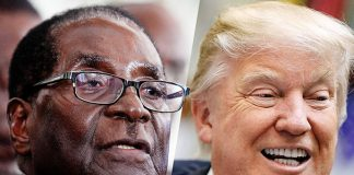 President Robert Mugabe and Donald Trump