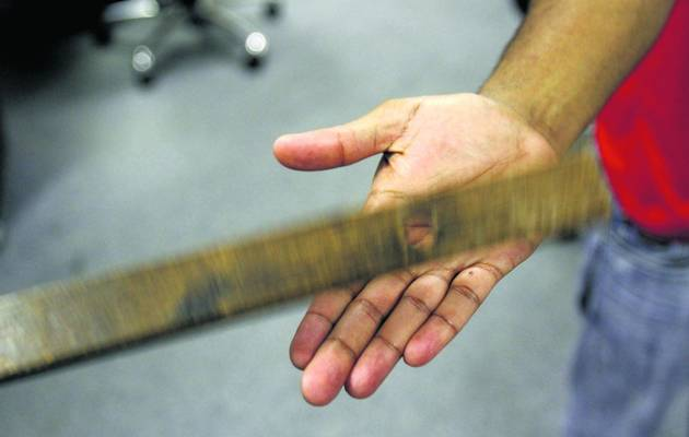 an argument against the corporal punishment in schools