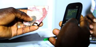 Most Mobile Money services allow users to buy things in shops or online, pay bills and school fees, and top-up mobile airtime.