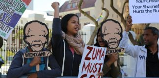 Anti-Zuma protests take place across South Africa