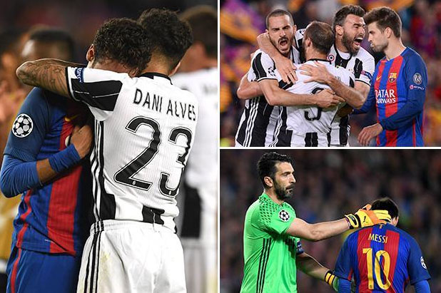 No repeat miracle for eliminated Barcelona as Juventus stand firm –