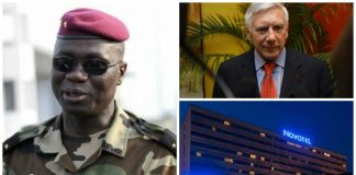 Gen Bruno Dogbo Ble was convicted at the murder trial for four foreign businessmen, who were abducted from a top hotel in the main city of Abidjan.