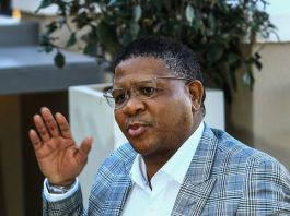 South Africa's Police Minister Fikile Mbalula