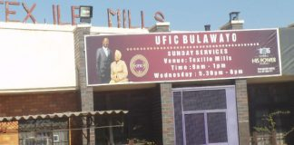 File picture of a United Family International Church (UFIC) branch in the Bulawayo industrial area