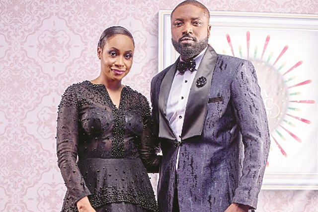 Pokello and Elikem Kumordzie