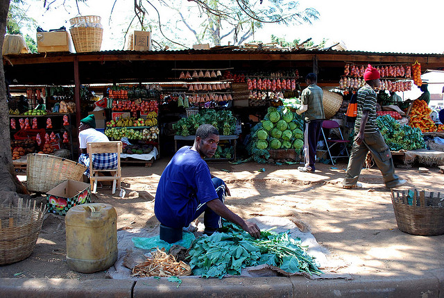 File picture of a market in Kadoma