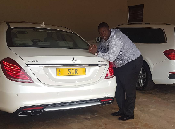 Flamboyant businessman Wicknell Chivayo has spoken out over the picture of his Mercedes Benz clamped in the city centre.