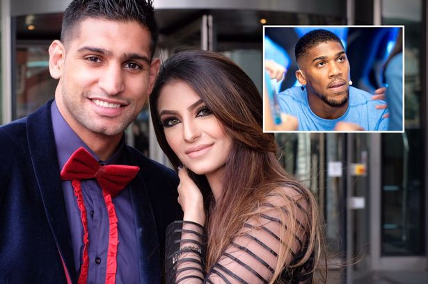 British boxer Amir Khan has confirmed his split from wife Faryal Makhdoom after claiming she cheated on him with fellow Nigerian born British heavyweight boxer Anthony Joshua as the pair reignited their bitter social media spat tonight.