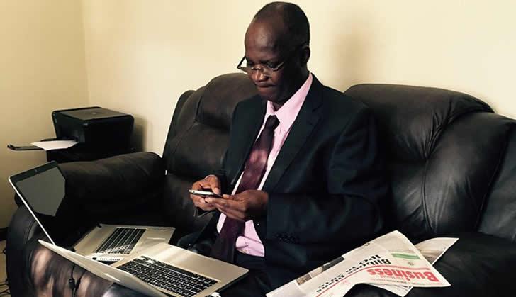 Higher Education Minister Jonathan Moyo