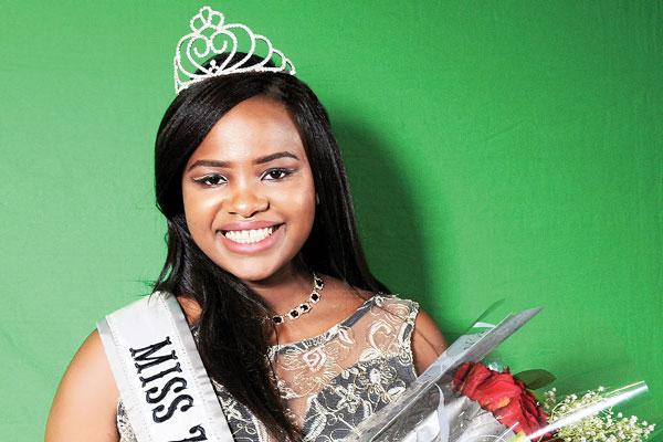 Miss Zimbabwe-USA, Thelma Manyika (Picture by NewsDay)