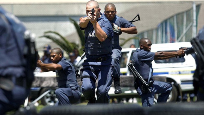 File picture of South African police