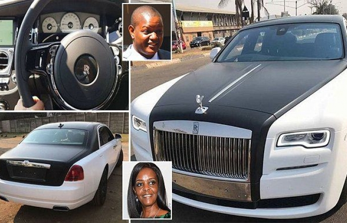 Zimbabweans had to confront images of two customised Rolls Royces' which Grace Mugabe's son imported and paid for with foreign currency.