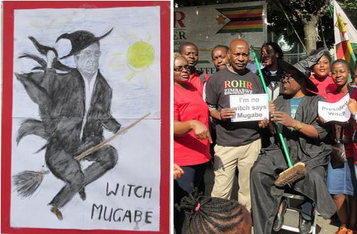Zimbabwe Vigil Diary